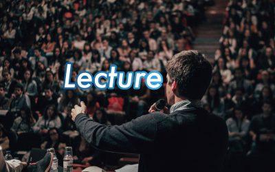 著名人による講演会